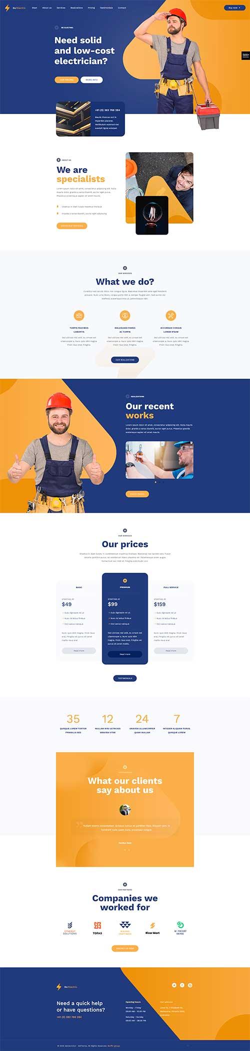 Website Đơn vị cung cấp dịch vụ sửa điện uy tín