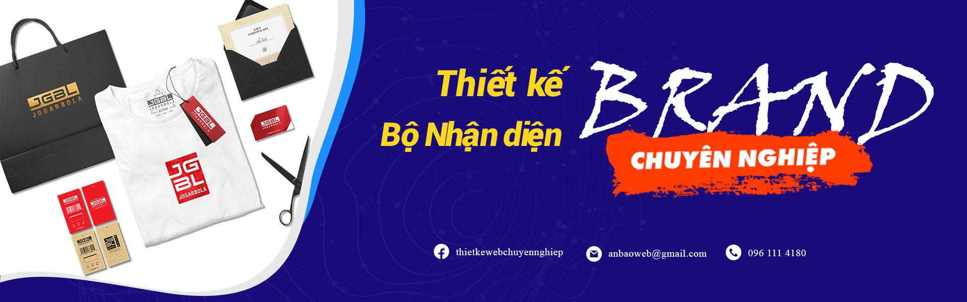 Dịch vụ thiết kế bộ nhận diện thương hiệu A&B Việt Nam