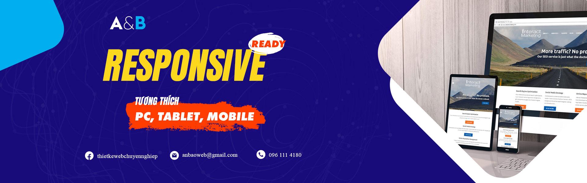 Dịch vụ tư vấn và thiết kế website A&B Việt Nam