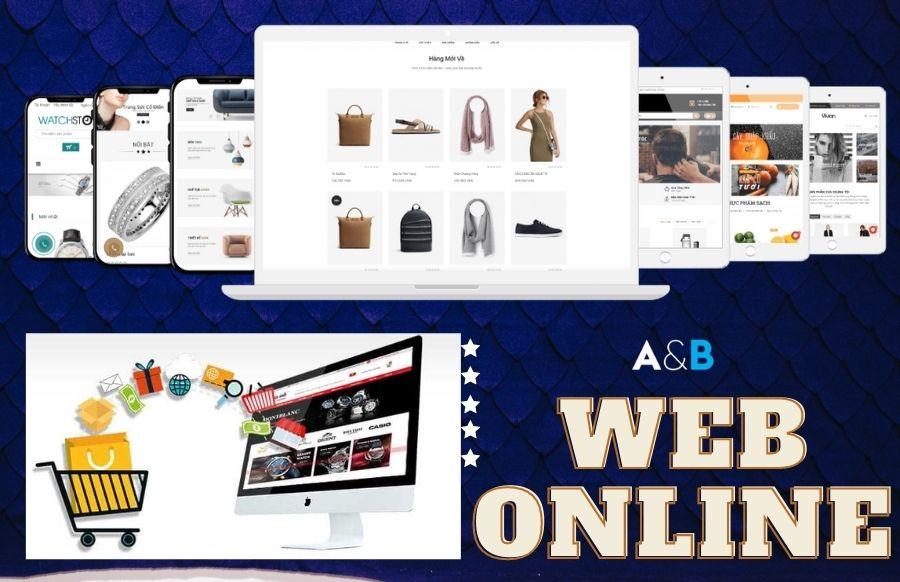 Thiết kế web bán hàng online giá rẻ tại Thái Bình