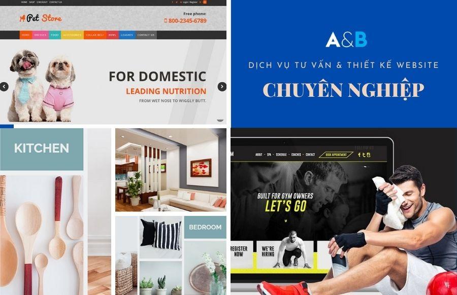 Thiết kế web chuyên nghiệp tại A&B Việt Nam