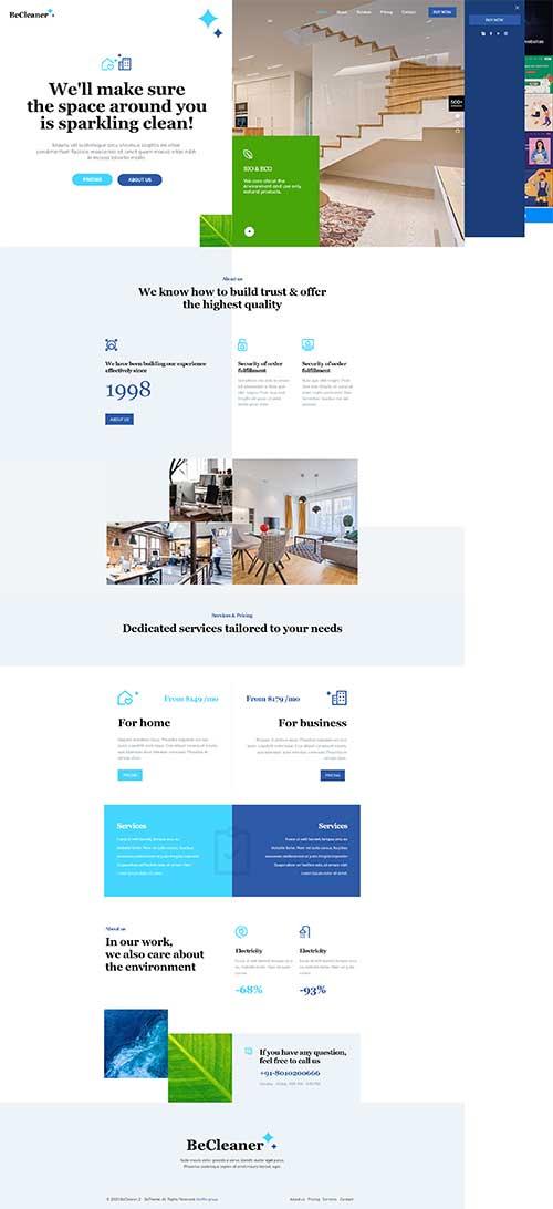 Web cung cấp Dịch vụ dọn nhà chuyên nghiệp