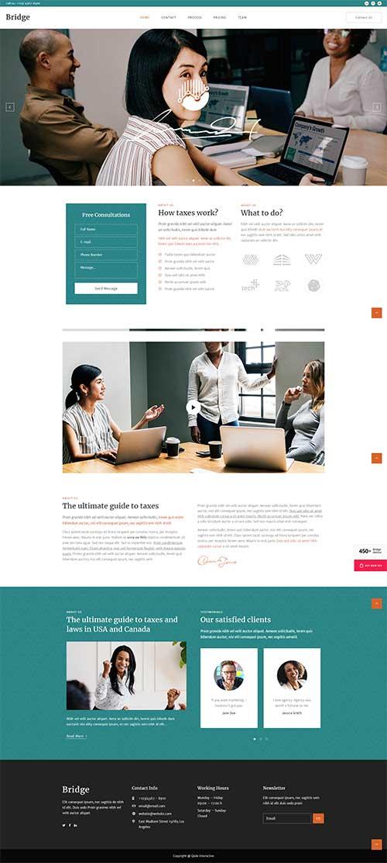 Website Dịch vụ hành chính kế toán chuyên nghiệp uy tín tin cậy