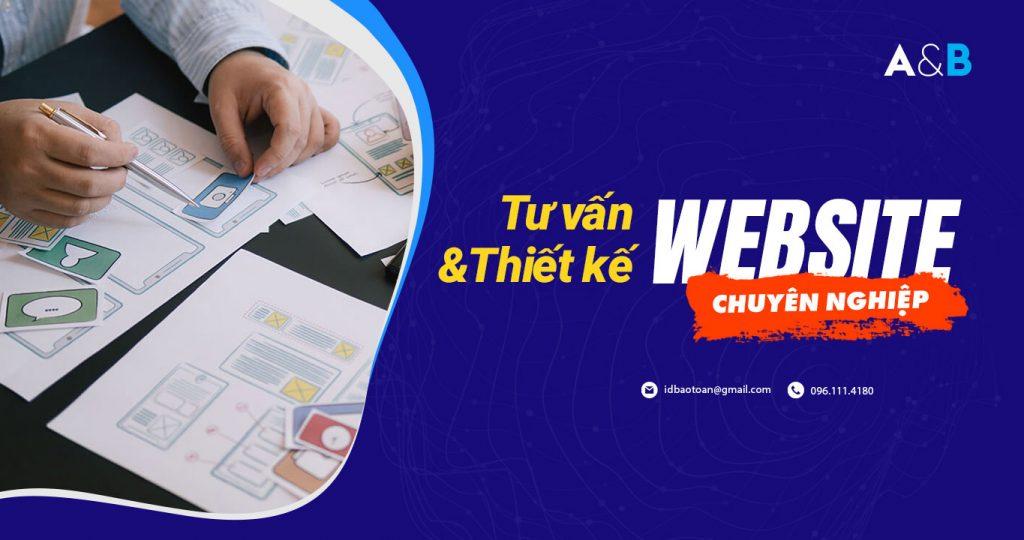 Dịch vụ thiết kế website An Bảo địa chỉ uy tín tại Thái Bình