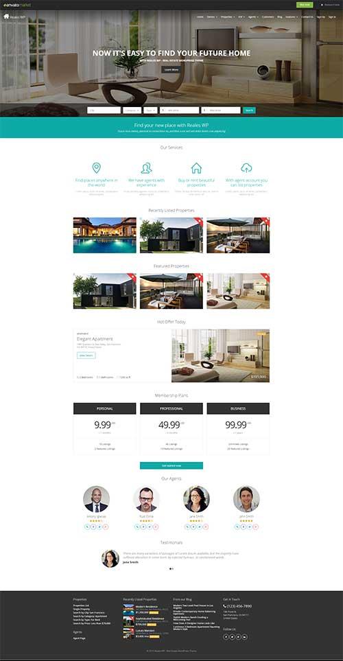 Website bán và cho thuê Bất động sản chuyên nghiệp
