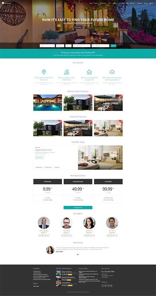 Website Bán và Cho thuê Bất động sản