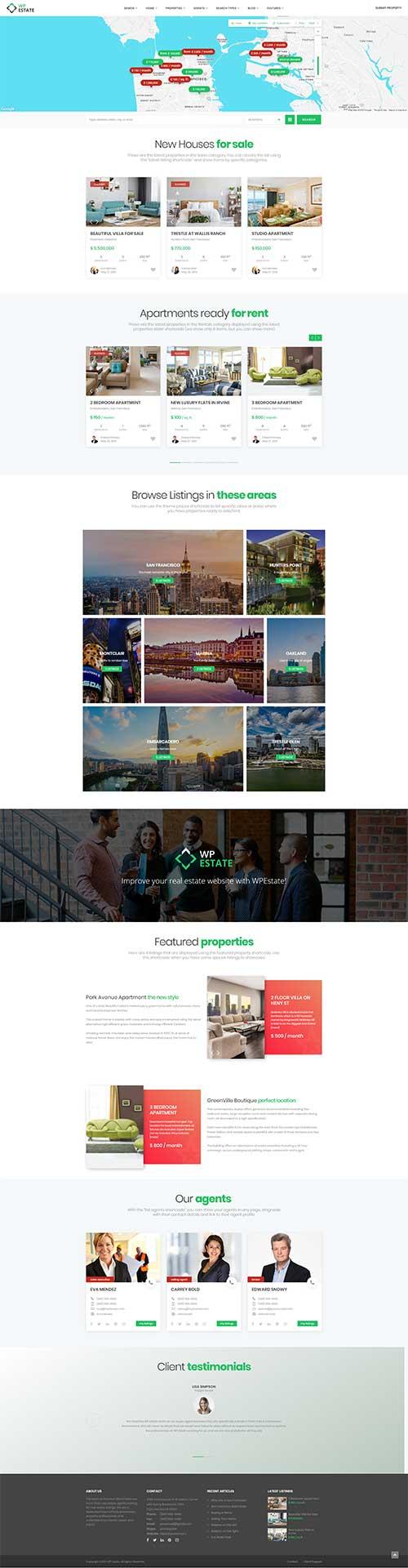 Website Bán và cho thuê Bất động sản tổng hợp