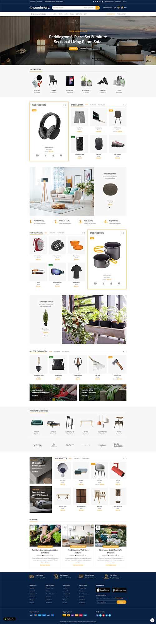 Website Nội Thất Điện Tử Gia Dụng