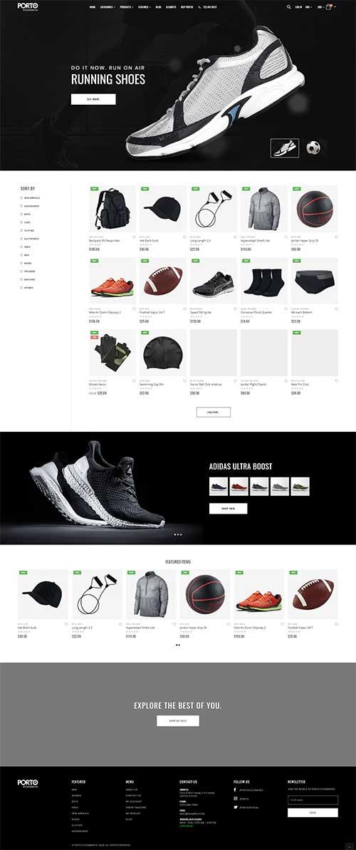 Website Shop Bán Giày & Đồ Dục Thể Thao Giải Trí