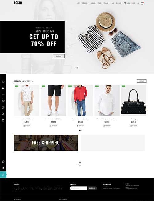 Website Shop Thời Trang Nam Nữ Đẹp Khác Biệt