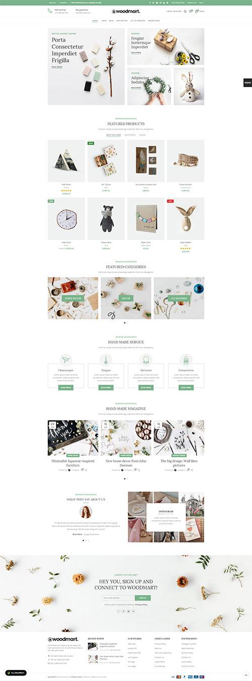 Website Bán Đồ Handmade Quà Lưu Niệm Đẹp