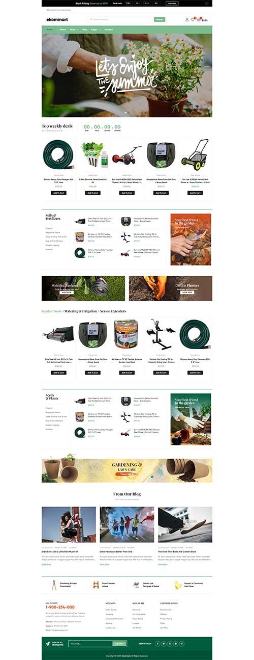 Shop Đồ Làm Vườn Đồ Dùng Nông Nghiệp Ekomart