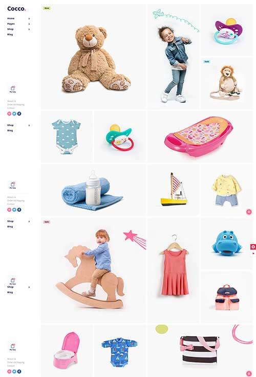 Shop đồ trẻ em