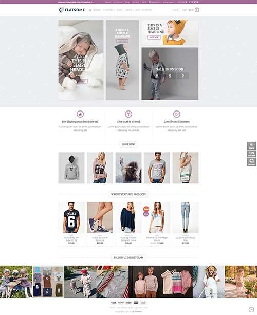 Website Thời Trang Nam Nữ, Trẻ Em