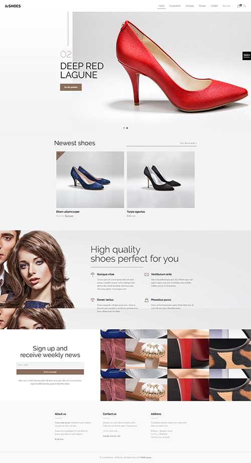 Thiết kế web thời trang trọn gói tiết kiệm hiệu quả