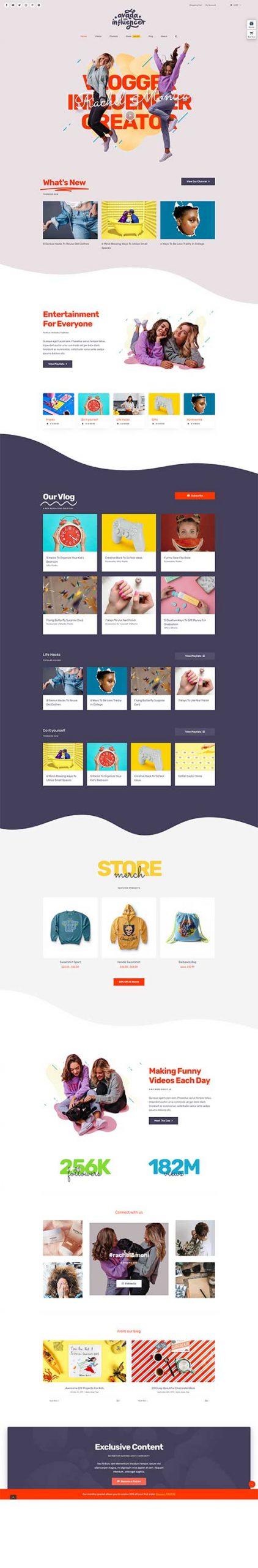 Giao Diện Web Shop Thời Trang Nữ Bắt Mắt