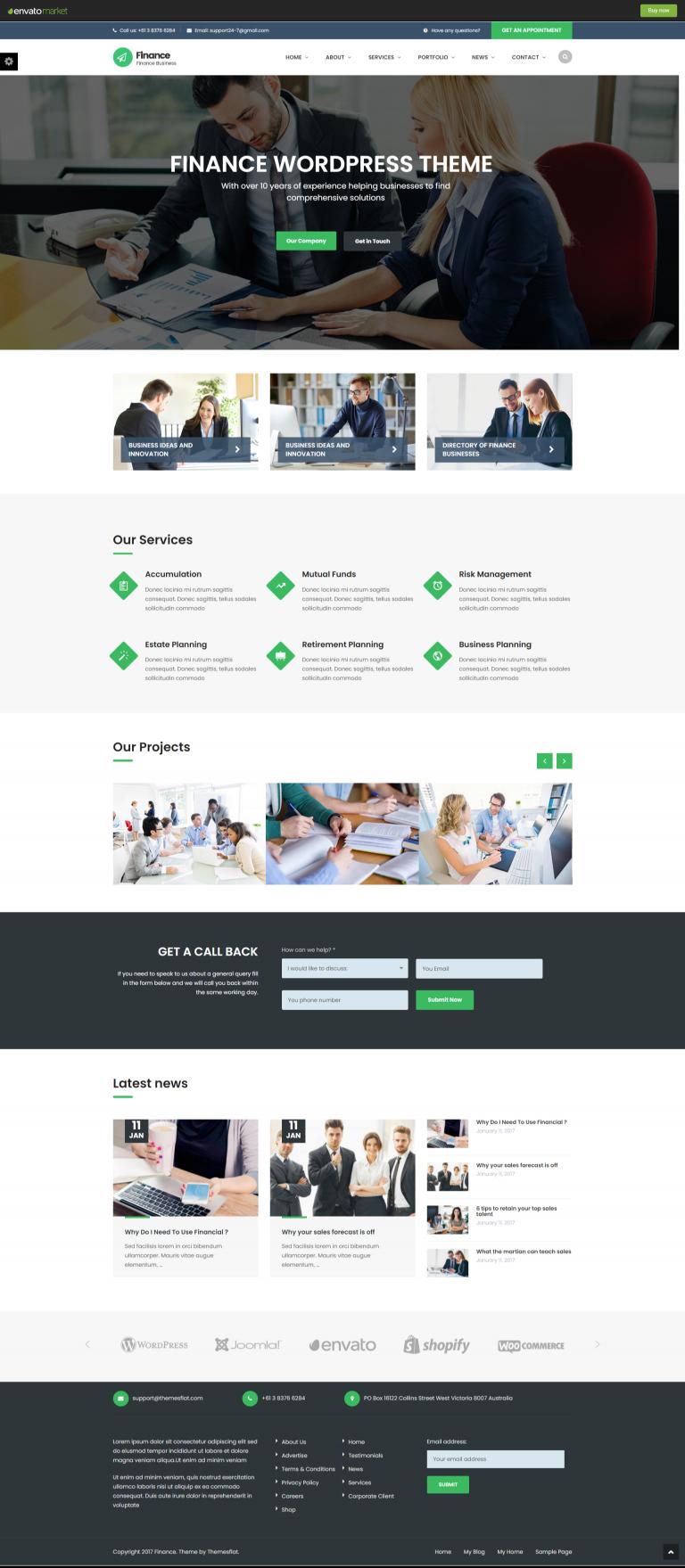 Mẫu web công ty dịch vụ kế toán 03