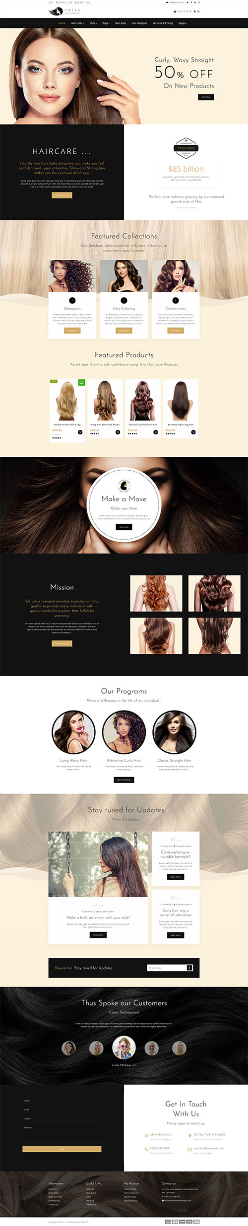 web-salon-toc-chuyen-nghiep