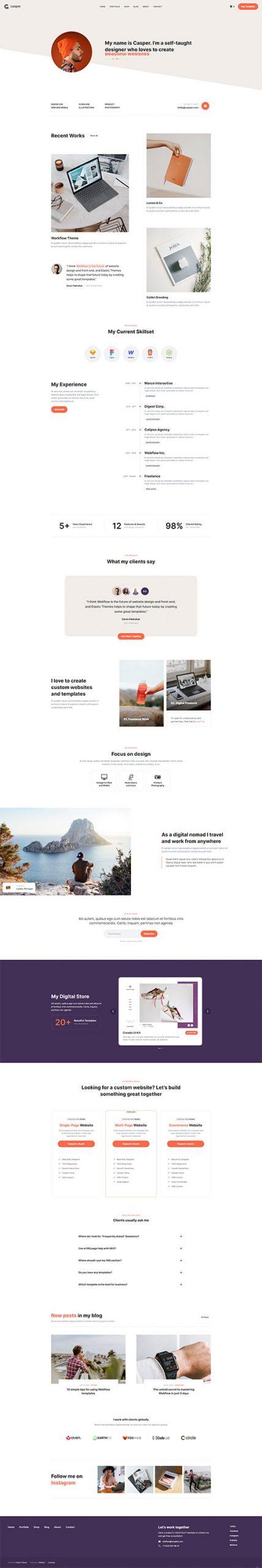 Mẫu-website-trang-Profile,-CV-giới-thiệu-cá-nhân-ấn-tượng-01