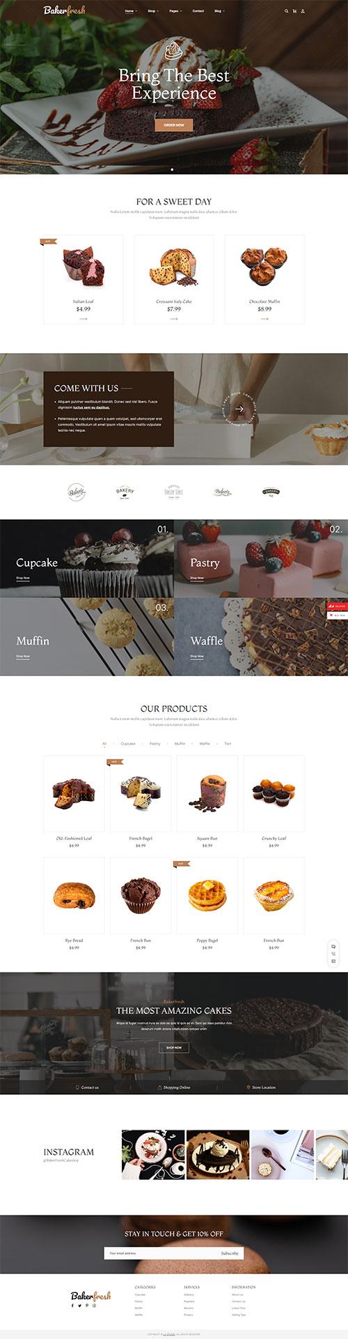 Mẫu-web-Tiệm-bánh-đồ-ăn-nhanh--Cake-shop-06