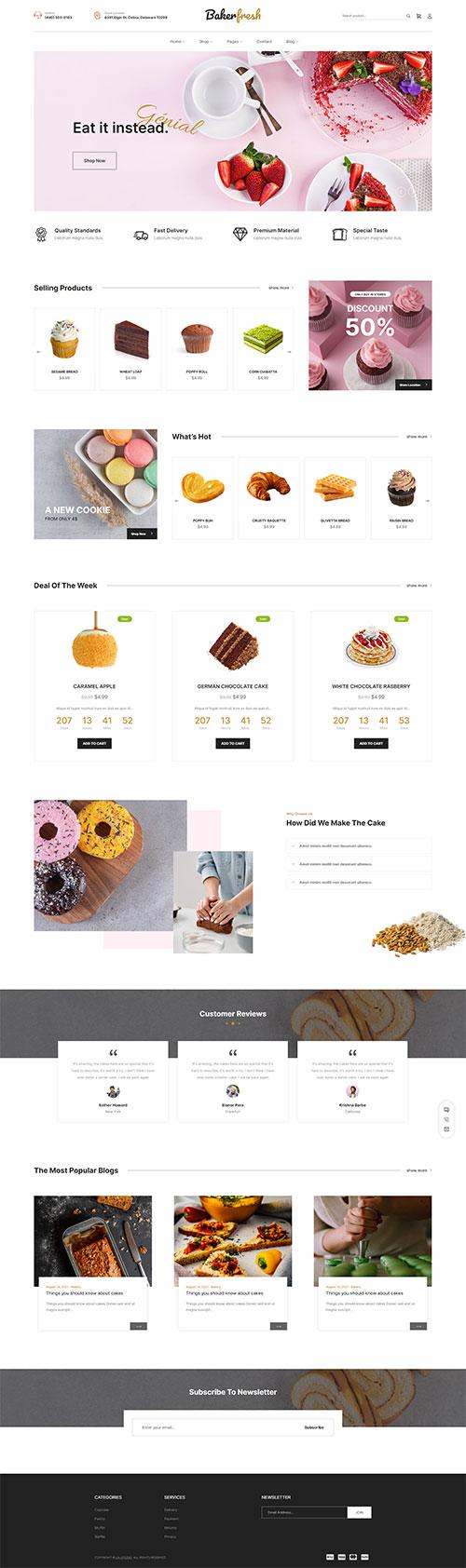 Mẫu-web-Tiệm-bánh-đồ-ăn-nhanh--Cake-shop-09